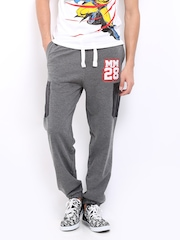 Kook N Keech Disney Men Dark Grey Track Pants