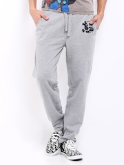 Kook N Keech Disney Men Grey Melange Track Pants
