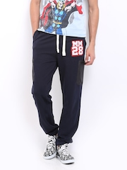 Kook N Keech Disney Men Navy Track Pants