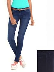 Kook N Keech Disney Women Blue Reversible Denims
