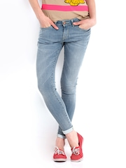 Kook N Keech Disney Women Blue Skinny Fit Jeans