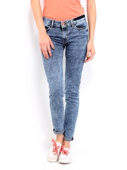 Kook N Keech Disney Women Blue Skinny Fit Jeans