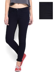 Kook N Keech Disney Women Navy Reversible Denims