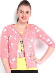 Kook N Keech Disney Women Pink Printed Cardigan