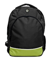 Kook N Keech Men Black Backpack