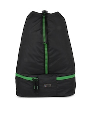 Kook N Keech Men Black Sling Gym Bag