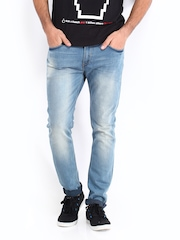 Kook N Keech Men Blue Carrot Fit Jeans