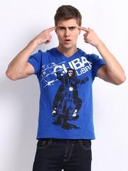 Kook N Keech Men Blue Cuba Libra T-shirt