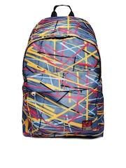 Kook N Keech Men Blue Printed Backpack