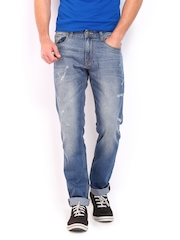 Kook N Keech Men Blue Tapered Fit Jeans