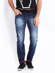 Kook N Keech Men Blue Tapered Fit Jeans