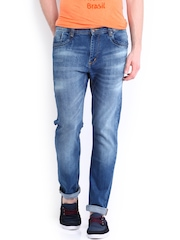 Kook N Keech Men Dark Blue Jeans