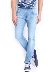 Kook N Keech Men Light Blue Jeans