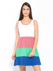 Kook N Keech Multi-Coloured A-Line Dress