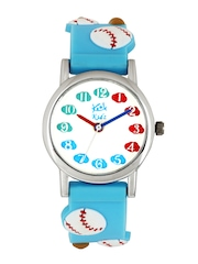 Kool Kidz Unisex White Dial Watch DMK 010