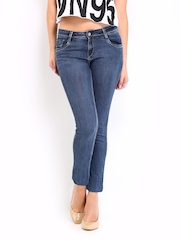 Kraus Jeans Women Blue Slim Fit Jeggings