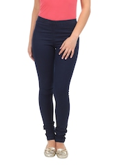 Kraus Jeans Women Blue Slim Fit Leggings