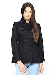 Kraus Jeans Women Black Jacket