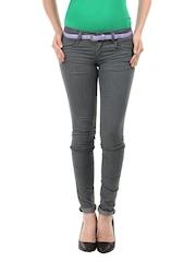 Kraus Jeans Women Grey Jeans
