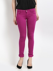 Kraus Jeans Women Pink Jeggings