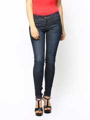 Kraus Jeans Women Blue Slim Fit Jeans