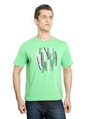 Kulture Shop Men Green Printed T-Shirt