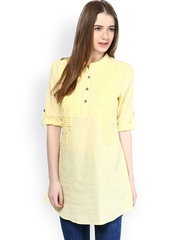 L'Elegantae Yellow Tunic