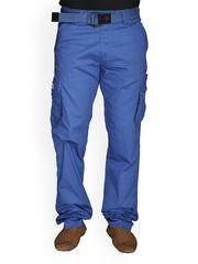Men Blue Cargo Trousers LD Active 604710