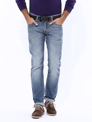 LOCOMOTIVE Men Blue Slim Fit Jeans