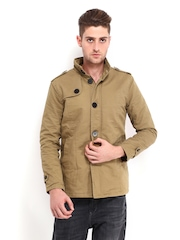 LOCOMOTIVE Men Khaki Jacket