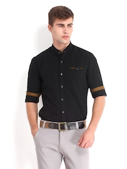 Locomotive Men Black Casual Shirt