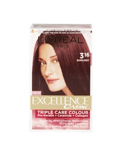 LOreal Excellence Creme Burgundy Hair Colour 3.16