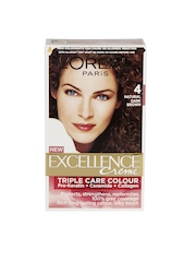 LOreal Excellence Creme Natural Dark Brown Hair Colour 4