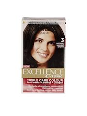 LOreal Excellence Creme Natural Darkest Brown Hair Colour 3