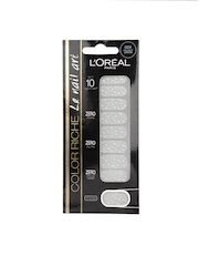 Loreal Clear Pearly Dress Nail Art Stickers