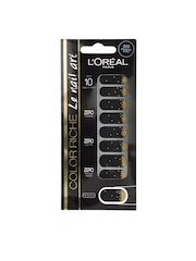 Loreal Black & Golden Nail Art Stickers