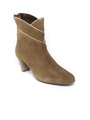 La Briza Women Brown Suede Boots