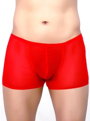 La Intimo Men Red Boxers LIBO005RD0