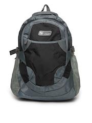 La Plazeite Unisex Grey Backpack