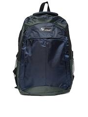 La Plazeite Unisex Navy & Grey Backpack