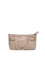 La Roma Peach Coloured Handbag