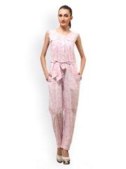 Ladybug Women Pink Printed Jumpsuit