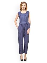Ladybug Women Blue Jumpsuit