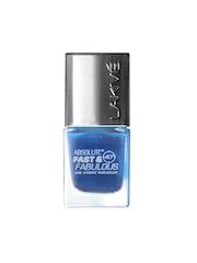 Lakme Absolute Fast & Fabulous Aqua Blaze Nail Polish 05