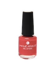 Lakme Absolute Gel Stylist Electric Orange nail color
