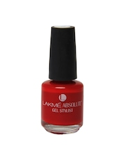 Lakme Absolute Gel Stylist Tomato tango nail color
