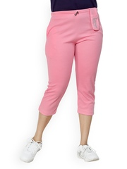 Lango Women Pink Capris