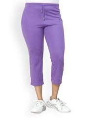Lango Women Lavender Capris