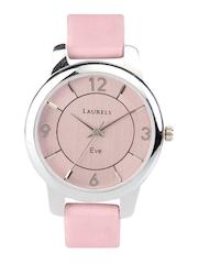 Laurels Women Pink Dial Watch 303