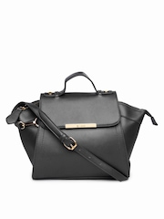 Lavie Black Satchel